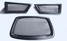 car front grille set for Subaru impreza  9th generation carbon fiber BLACK