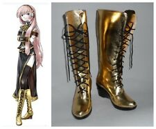 Vocaloid 2 Cv3 Megurine Luka Cosplay Costume Boots Boot Shoes Shoe