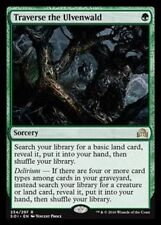 1x TRAVERSE THE ULVENWALD - Rare - Innistrad - MTG - NM - Magic the Gathering