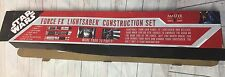 STAR WARS FORCE FX LIGHTSABER CONSTRUCTION SET MASTER REPLICAS PROP 2007 in box