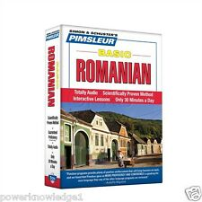 NEW 5 CD Pimsleur Learn to Speak Basic Romanian Language