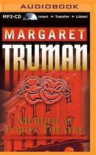Capital Crimes: Murder at Ford's Theatre 19 by Margaret Truman (2014, MP3 CD,...