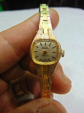 Vintage women's Stellar Brand art deco style watch-Needs battery-No scratches