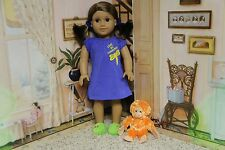 "American Girl Lanie ""Nightgown and Orangutan"" - COMPLETE - RETIRED - RARE - EUC"