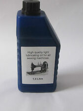 Quality Industrial Sewing Machine Oil 1Ltr Ideal For Pfaff, Seiko, Brother, Juki