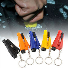 Fantastic Keychain Car Emergency Rescue Glass Breaker Seat Belt Cutter Hammer