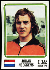 Netherlands Johan Neeskens #85 World Cup Story Panini Sticker (C350)