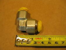 Parker EPB12 Prestolok 12mm 90 Union Elbow Brass Push To Connect Air Fitting