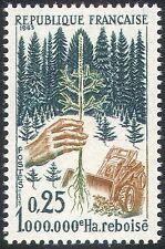 France 1965 Re-afforestation/Forest/Trees/Plants/Nature/Tractor 1v (n42452)