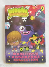 BRAND NEW SEALED BOXSET MOSHI MONSTER MONSTROUS BIOGRAPHIES COLLECTION