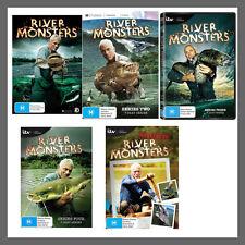 River Monsters: Season 1, 2, 3, 4 & The Best Of DVD Set Region 4 Jeremy Wade