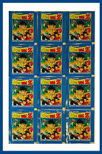 2000 Panini DragonBall Z Stickers Factory Sealed 12 Packs Spanish Edition