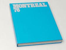 (PRL) LIBRO COLLEZIONE CONI OLIMPIADI MONTREAL 76 BOOK SPORT JEUX OLYMPIQUE
