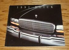 Original 1991 Buick Full Line Sales Brochure 91 Park Avenue Regal LeSabre