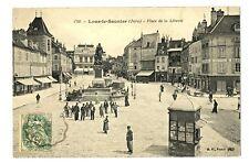 CPA 39 Jura Lons-le-Saunier Place de la Liberté animé