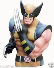 Wolverine X-Men Masked Bust Bank Marvel Comics Bust Piggy Bank Brand New