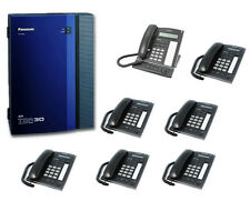 Panasonic KX-TDA30 Telephone System & 7 Phones + Warranty + VAT & FREE DELIVERY