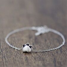 Catlike Cat Bracelet  S925 Silver Plated Korean Style Fashion  Bracelets