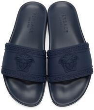 Versace Palazzo Medusa beach sandal   Blue