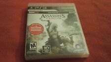 ASSASSIN'S CREED III PS3 PLAYSTATION 3 VIDEO GAME COMPLETE