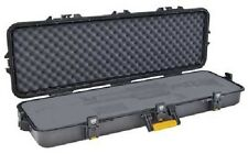 """Plano 42"""" Tactical All Weather Single Rifle Case, 46""""X16""""X5.5"""", Black 108442"""