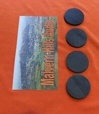 4 x Sorbothane Discs / Feet 35 mm. Diameter x 3mm. Enhanced Sound & Isolation