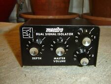 Maestro Dual Signal Isolator, Chicago Musical Instruments Co., 2 In/Out, Vintage