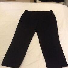 Jaeger Boutique Black Cropped Trouser Size 14