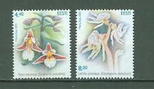 Estonia C75 MNH 2005 2v Plants Flowers Below face