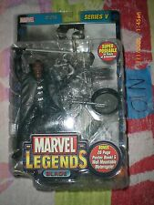 N10_1 Toy Biz ToyBiz Marvel Legend Lot WESLEY SNIPES AS MOVIE BLADE 2 Series V 5