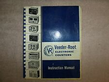 Veeder-Root Electronic Counters Instruction Manual 1960