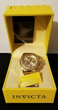 Invicta Pro-Diver 18k Gold Ion Plated Stainless Steel Watch⌚ for Men✔BRAND NEW✔