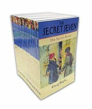 Enid Blyton The Complete Secret Seven Library 16 Books Set Collection Series