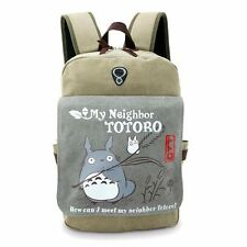 UK Stock Studio Ghibli My Neighbor Totoro Backpack Cosplay School Bag