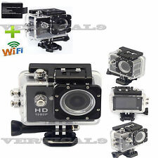 1080P WIFI 12MP Waterproof SJ4000 HD Helmet Sport Action Video Camera Cam DV