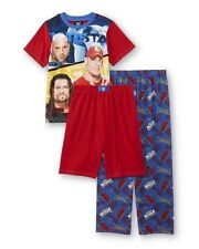 WWE John CENA Batista Roman Reigns Pajamas Boys 10/12 NeW Shirt Pants Shorts Pjs