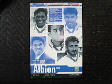 West Bromwich Albion v India July 2000