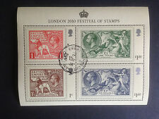 Great Britain 2010 Festival of Stamps Mini Sheet Fine used SG MS3072