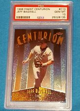 1998 FINEST CENTURION #C9 SERIAL NUMBERED/500 JEFF BAGWELL PSA 10  ! GEM MINT
