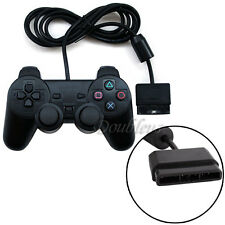 Wired Dual Shock Gaming Vibration Controller JoyPad For Playstation 2 PS2