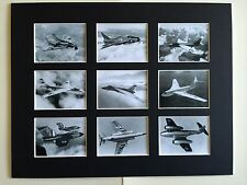 "COLD WAR PLANES VULCAN RETRO POSTERS 14"" BY 11"" PICTURE MOUNTED READY TO FRAME"