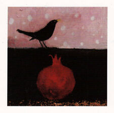 PAGAN WICCAN GREETNG CARDS Cranberry Snow CROW CELTIC Goddess CATHERINE HYDE