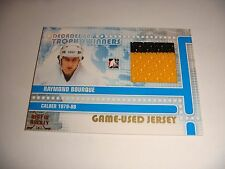 Ray Bourque 2011 ITG/In The Game Gold Level 2-COLOR Jersey #1/1 Bruins FREE SH