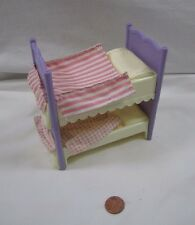 Fisher Price Loving Family Dollhouse GIRLS BUNK BED SET 2 PIECES BEDROOM Spreads