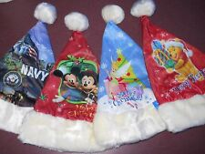 DISNEY Characters, Santa  Christmas Holiday Hat. (BUY ONE GET ONE FREE SPECIAL)