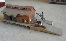 Vintage HO Scale Vollmer Dock Side Freight Warehouse Building 10230 LOOK