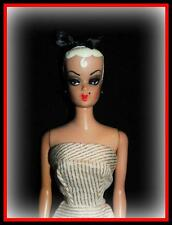 VTG GERMAN BILD LILLI OOAK FASHION QUEEN BARBIE DOLL REPAINT PLATINUM HAIR