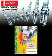 DENSO IRIDIUM POWER SPARK PLUG SET IXU24X 6 RACING PLUG