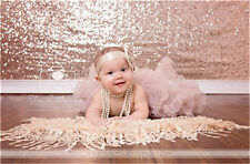 Wholesale Rose Gold Sequin Backdrop 4ft*9ft  Wedding Birthday Party Photography