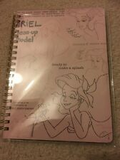 Ariel Disney Japan Notebook